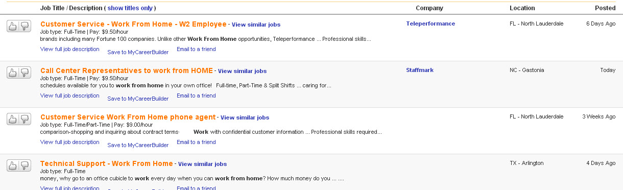 How To Find A Work From Home Job - James L  Paris