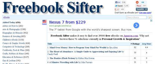 Freebooksifter