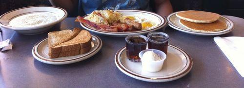 Denny's breakfast