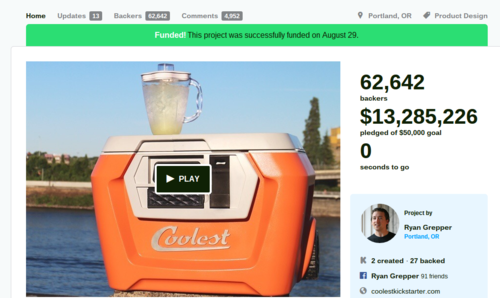 COOLEST COOLER  21st Century Cooler that s Actually Cooler by Ryan Grepper — Kickstarter