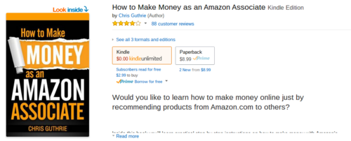 Amazon.com  How to Make Money as an Amazon Associate eBook  Chris Guthrie  Kindle Store
