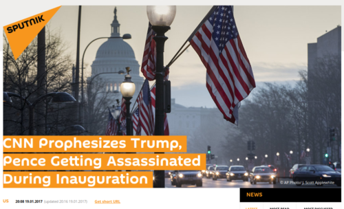 CNN Prophesizes Trump  Pence Getting Assassinated During Inauguration