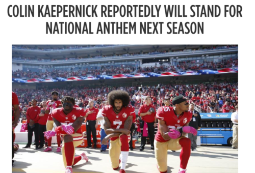 Colin Kaepernick Reportedly Will Stand for National Anthem Next Season   Bleacher Report