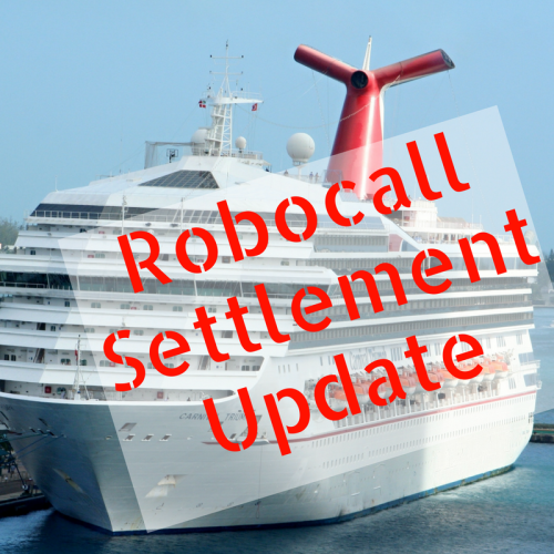 Robocall Settlement Update
