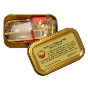 15-Pc. Emergency Survival Fishing Kit
