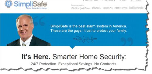 New options for home security james l paris amazon sells a wide array of these kind of do it yourself home security systems the simplisafe basic set up is currently going for 249 solutioingenieria Choice Image
