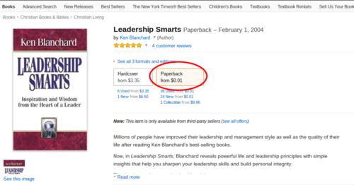 Leadership Smarts  Ken Blanchard  9781562921248  Amazon.com  Books