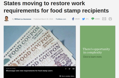 The Trend Away From Obama Changes Began With Kansas Back In 2013 When State Uncovered Widespread Fraud And Abuse Its Food Stamp Program