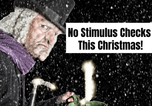 No Stimulus Checks This Christmas