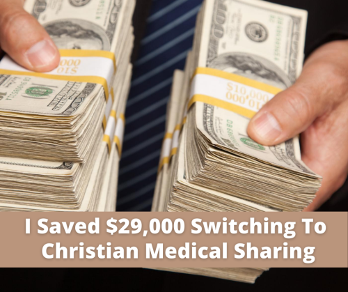 I Saved $29 000 Switching To Christian Medical Sharing